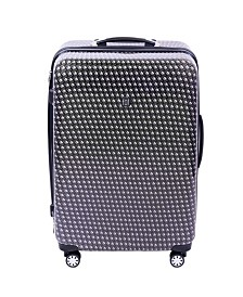 """FUL Metal Chain 28"""" Hard Sided Spinner Luggage"""