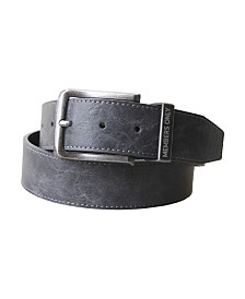 Members Only Marbled Leather Belt