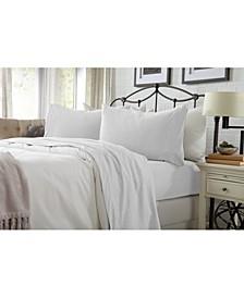 Great Bay Home Heathered Super Soft Jersey Knit King Sheet Set