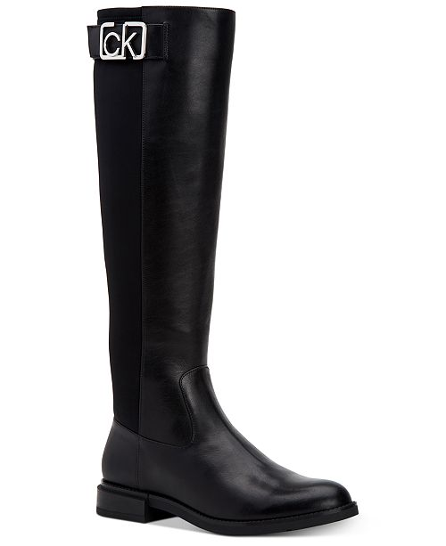 free delivery official photos 100% authentic Calvin Klein Women's Ada Dress Boots & Reviews - Boots - Shoes ...