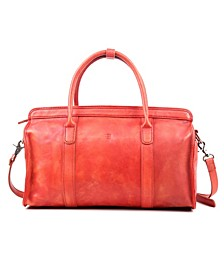 Santa Clara Leather Satchel Bag