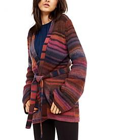 Bosworth Striped Cozy Cardigan