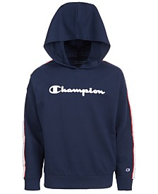 Champion Big Girls French Terry Logo Hoodie