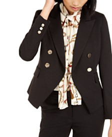 Bar III Double-Breasted Jacket, Created For Macy's