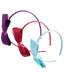 Little & Big Girls 3-Pk. Bow Headbands