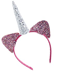 Little & Big Girls Glitter Unicorn Headband