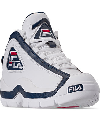6191a2fa Fila Boys Grant Hill 2 Low Top Basketball Sneakers from Finish Line &  Reviews - Finish Line Athletic Shoes - Kids - Macy's