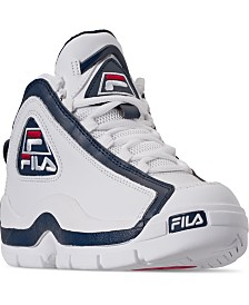 Fila Boys Grant Hill 2 Low Top Basketball Sneakers from Finish Line
