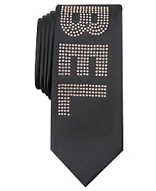 I.N.C. Men's Skinny Rebel Tie, Created For Macy's