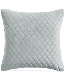 Velvet Euro Decorative Pillow, Created for Macy's