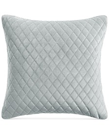 Whim by Martha Stewart Collection Velvet Euro Decorative Pillow, Created For Macy's