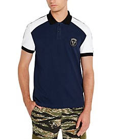 Men's Eagle Graphic Polo Shirt