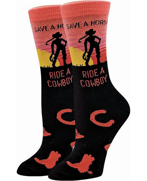 Sock Harbor Save A Horse Socks