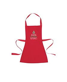 C&F Enterprises Baking Xmas Memories Kid Apron