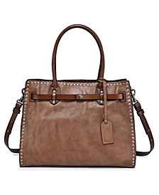 Westland Leather Satchel Bag