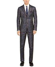 Men's Slim-Fit Snakeskin Suit Separates