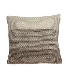 Camden Transitional Tan Pillow Cover