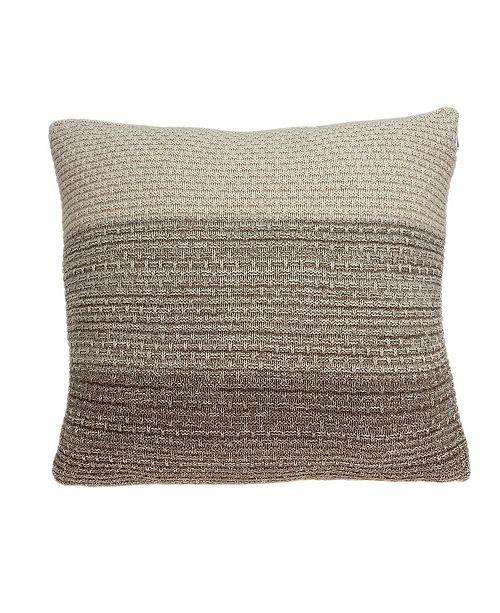 Parkland Collection Camden Transitional Tan Pillow Cover