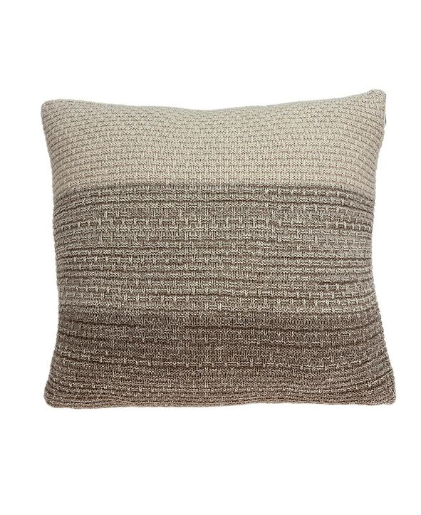 Parkland Collection Camden Transitional Tan Pillow Cover