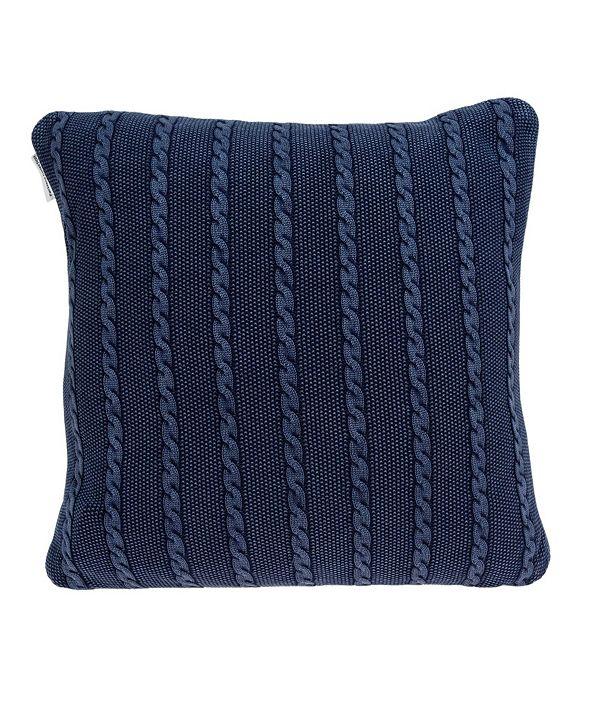 Parkland Collection Danza Transitional Blue Pillow Cover