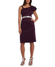 Petite One-Shoulder Dress