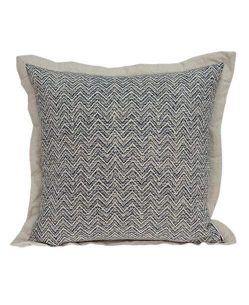 Parkland Collection Neela Transitional Multicolor Pillow Cover With Down Insert
