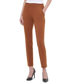 Calvin Klein Pull-On Ankle Pants