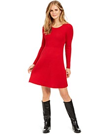 Ribbed-Knit Sweater Dress, Created For Macy's