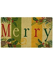 """Merry 18"""" x 30"""" Doormat"""