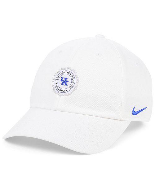 Nike Kentucky Wildcats Patch Logo Seal Strapback Cap