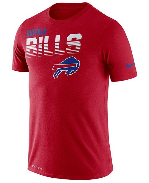 Nike Men's Buffalo Bills Sideline Legend Line of Scrimmage T-Shirt