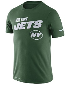Nike Men's New York Jets Sideline Legend Line of Scrimmage T-Shirt