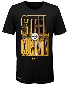 Big Boys Pittsburgh Steelers Local Verbiage T-Shirt