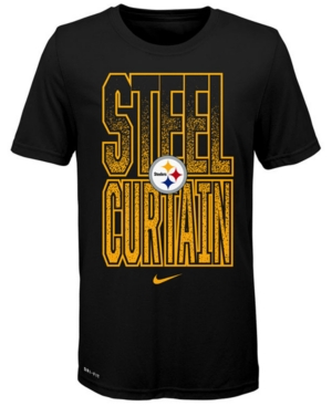 Nike Big Boys Pittsburgh Steelers Local Verbiage T-Shirt