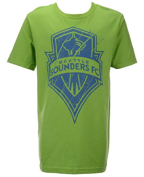 promo code b3f66 ad1cc Big Boys Seattle Sounders FC Rush to Score T-Shirt