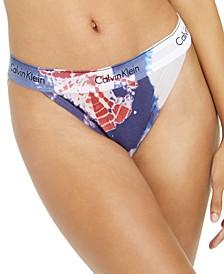 Women's Modern Cotton Tie-Dye Tanga Underwear QF6059
