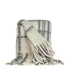 Casmir Transitional Handloomed Mohair Throw