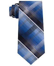 Van Heusen Men's Dean Classic Plaid Tie
