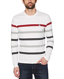 Men's Slim-Fit Striped Sweater
