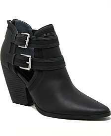 CHARLES by Charles David Naval Booties