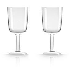 by Palm Tritan Clear Wine Glass, Set of 2