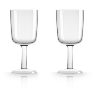 Marc Newson by Palm Tritan Clear Wine Glass, Set of 2