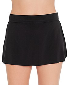 Jersey Tennis Tummy Control Swim Skirt