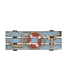 Glitzhome Solid Wood Joy Wall Decor