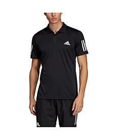 Men's Club 3 Stripe Tennis Polo Shirt