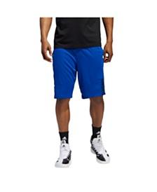 Adidas Men's 3-Stripe Lightweight Speed-X Basketball Shorts