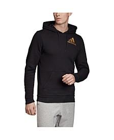 Men's Metallic Badge of Sport Fleece Pullover Sweatshirt