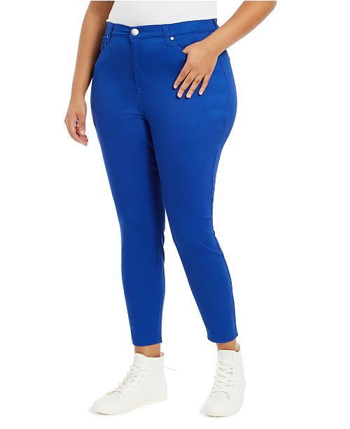 Celebrity Pink Plus Size High-Rise Skinny Jeans