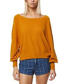 Juniors' Keiki Dolman-Sleeve Sweater