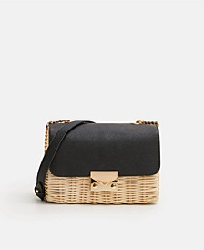 Bamboo Contrasting Bag